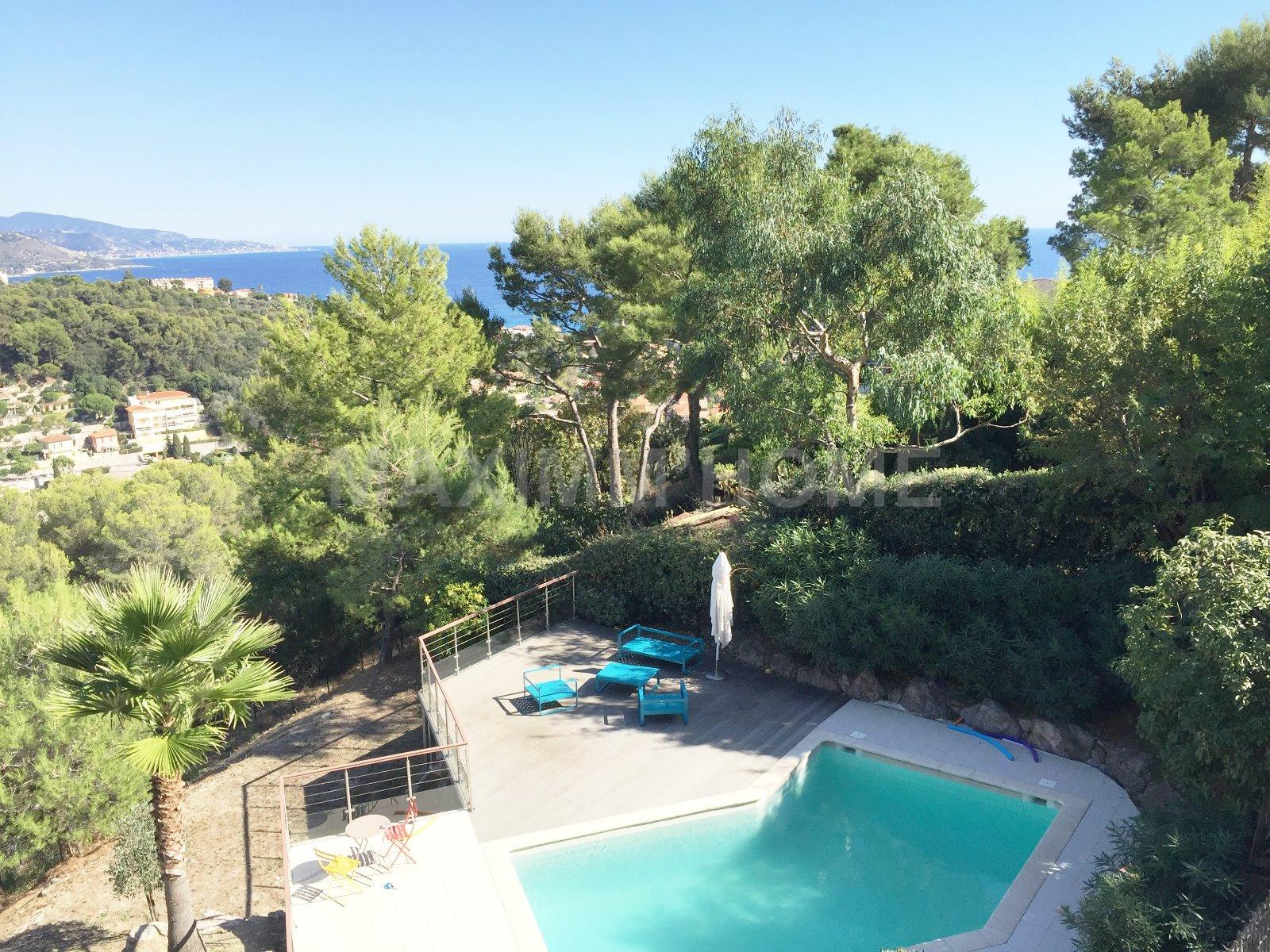 Vente roquebrune cap martin proche monaco villa for Azureva roquebrune cap martin piscine